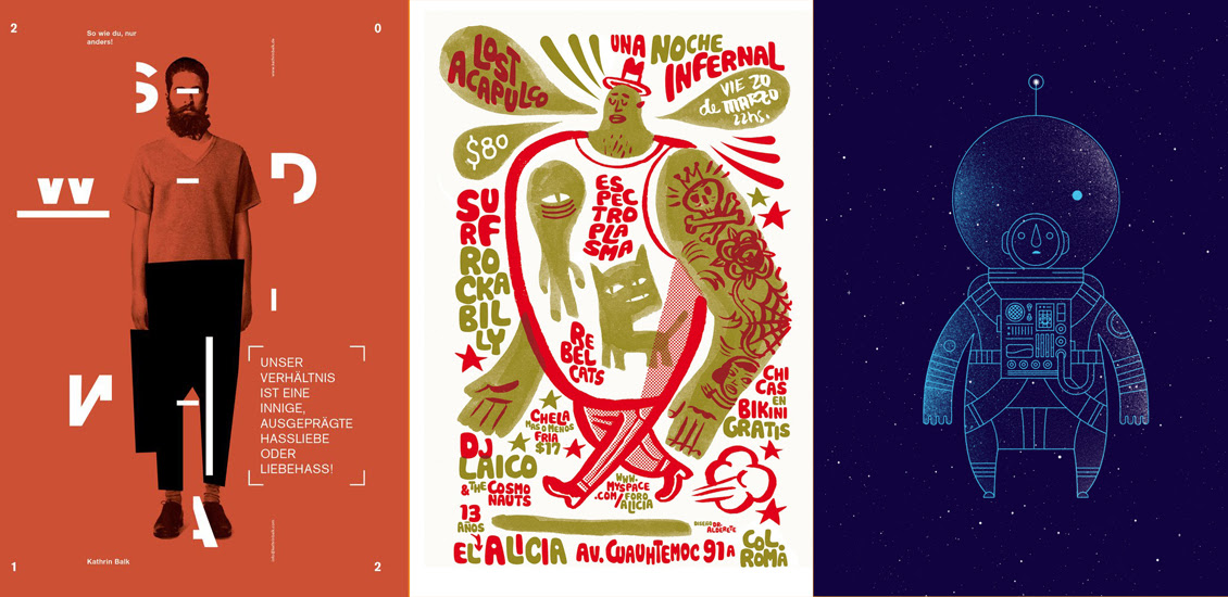 Best Poster Design: 50 Excellent Inspirations