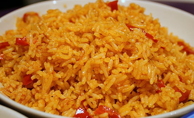 Spicy chili rice
