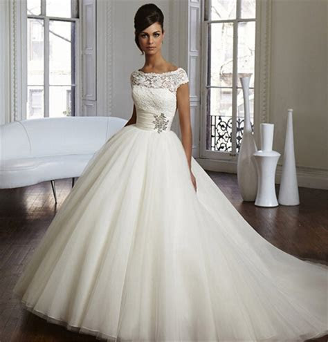 hot sale BRIDES DRESS Stock Corset Wedding Dresses Ivory