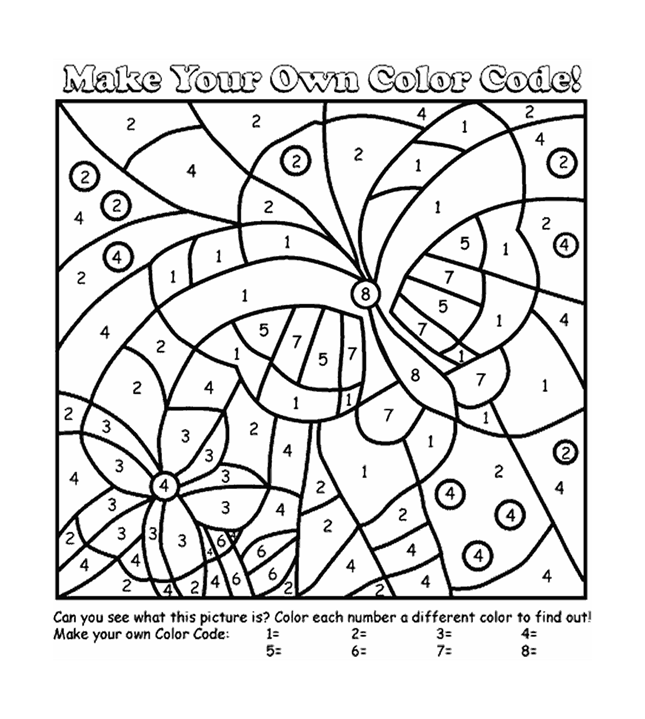 85 Top Coloring Pages With Numbers , Free HD Download