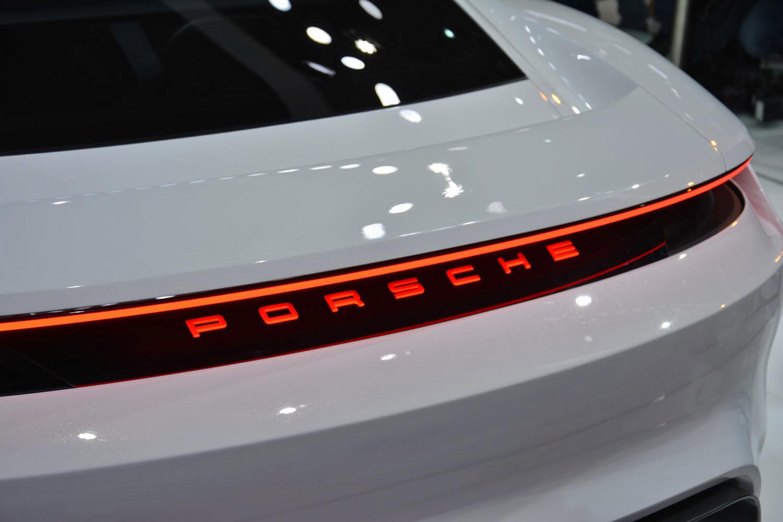 Porsche's Mission E concept flaunts its advanced electric drive