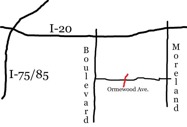 OrmewoodBridgeMap