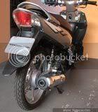 traseira Yamaha NEO CVT