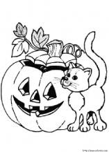 Coloriages Dhalloween