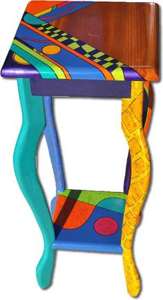 Whimsical Painted Furniture on Pinterest