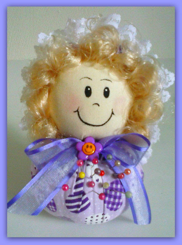 como fazer lembrancinha dia das maes bonequinha sache  (1)