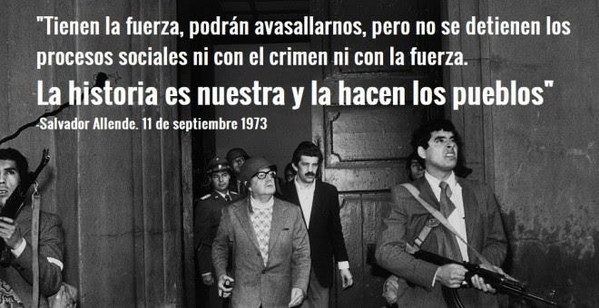 Se cumplen 44 años del golpe militar que derrocó a Allende