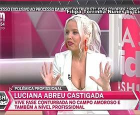 Filipa Torrinha Nunes a sensual comentadora do Flash Vidas