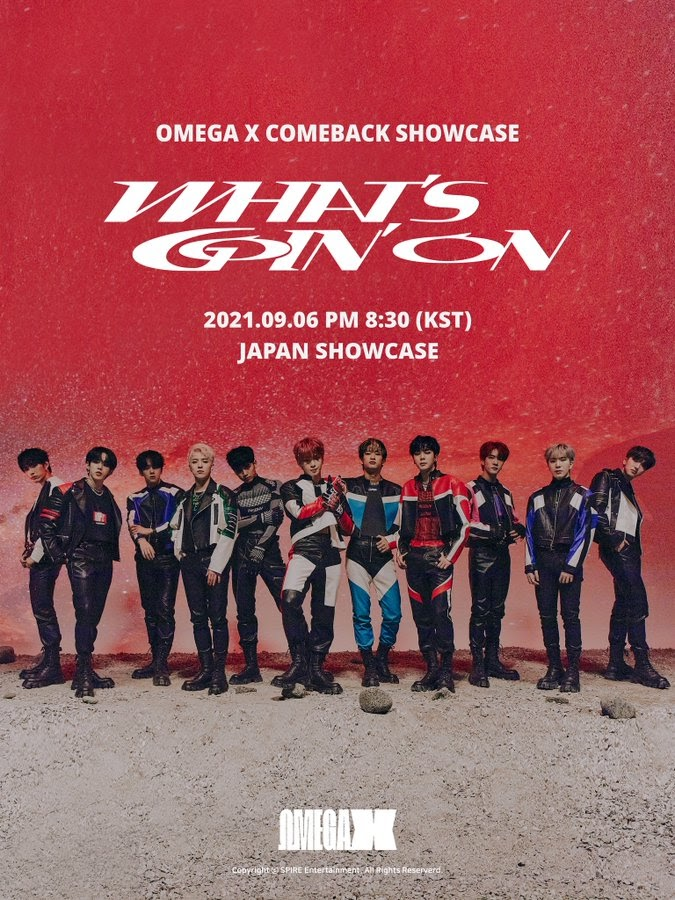 """OMEGA X Comes Back with """"Whats Goin On"""" and Showcase"""