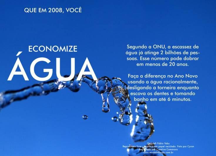 Frases Sobre O Desperdicio De Agua Fy71 Ivango