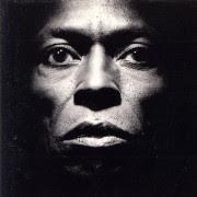 Miles Davis, afgebeeld op het album 'Tutu'