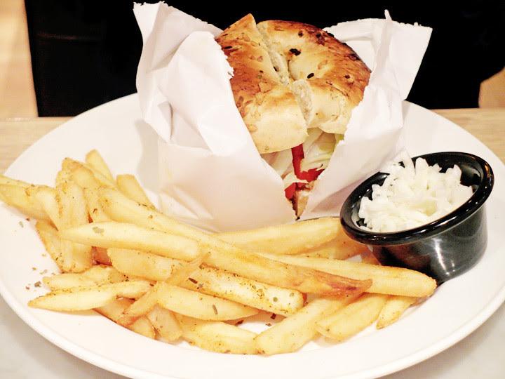 N.Y. Bagels Cafe food