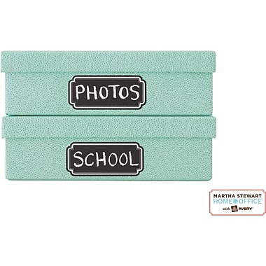 Martha Stewart Home Office™ with Avery™ Chalkboard Labels, Scallop with White Border, 1-5/8in. x 3-3/4in., 12/Pack