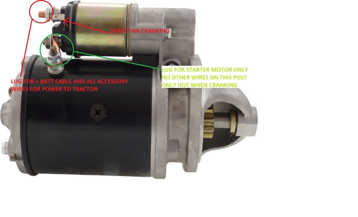 32 Ford Tractor Starter Solenoid Wiring Diagram