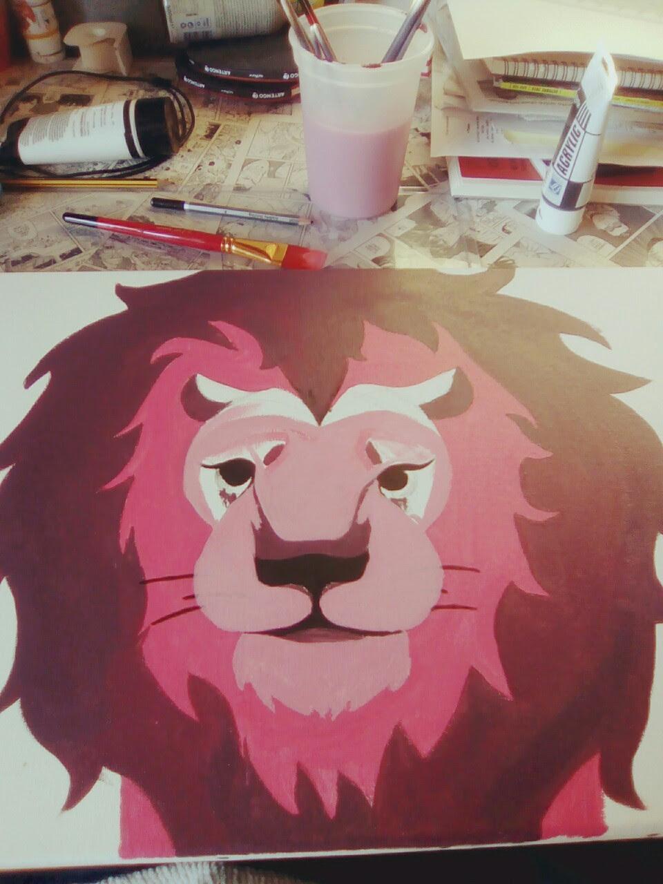 I love you lion