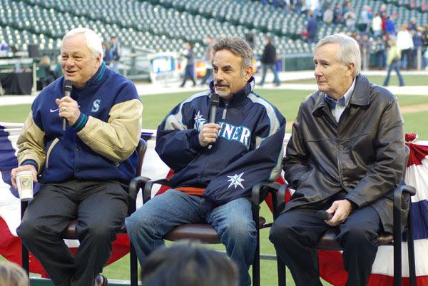 Chuck Armstrong, Rick Rizzs, Howard Lincoln