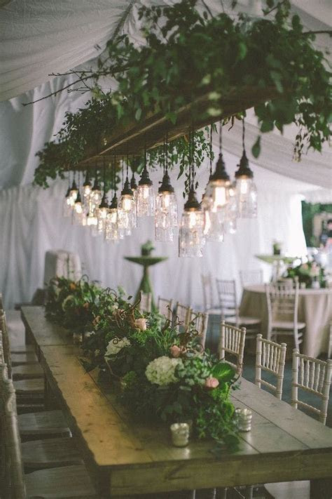 20 Inspired Ideas for a Dreamy Woodland Wedding   Brit   Co