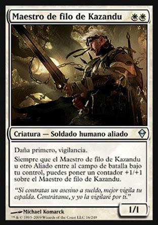Maestro de filo de Kazandu