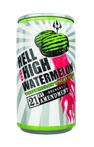 Chip the Beer Guy – 21st Amendment Hell or High Watermelon Wheat Beer