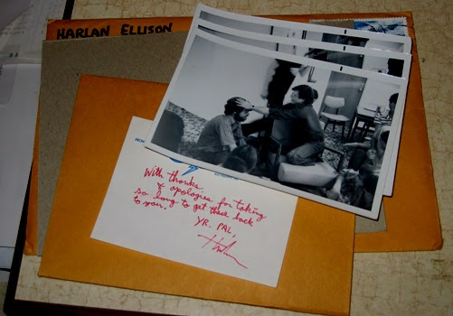 a package from Harlan, 2005.