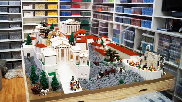 perierga.gr - Η Ακρόπολη με 120.000 τουβλάκια LEGO!