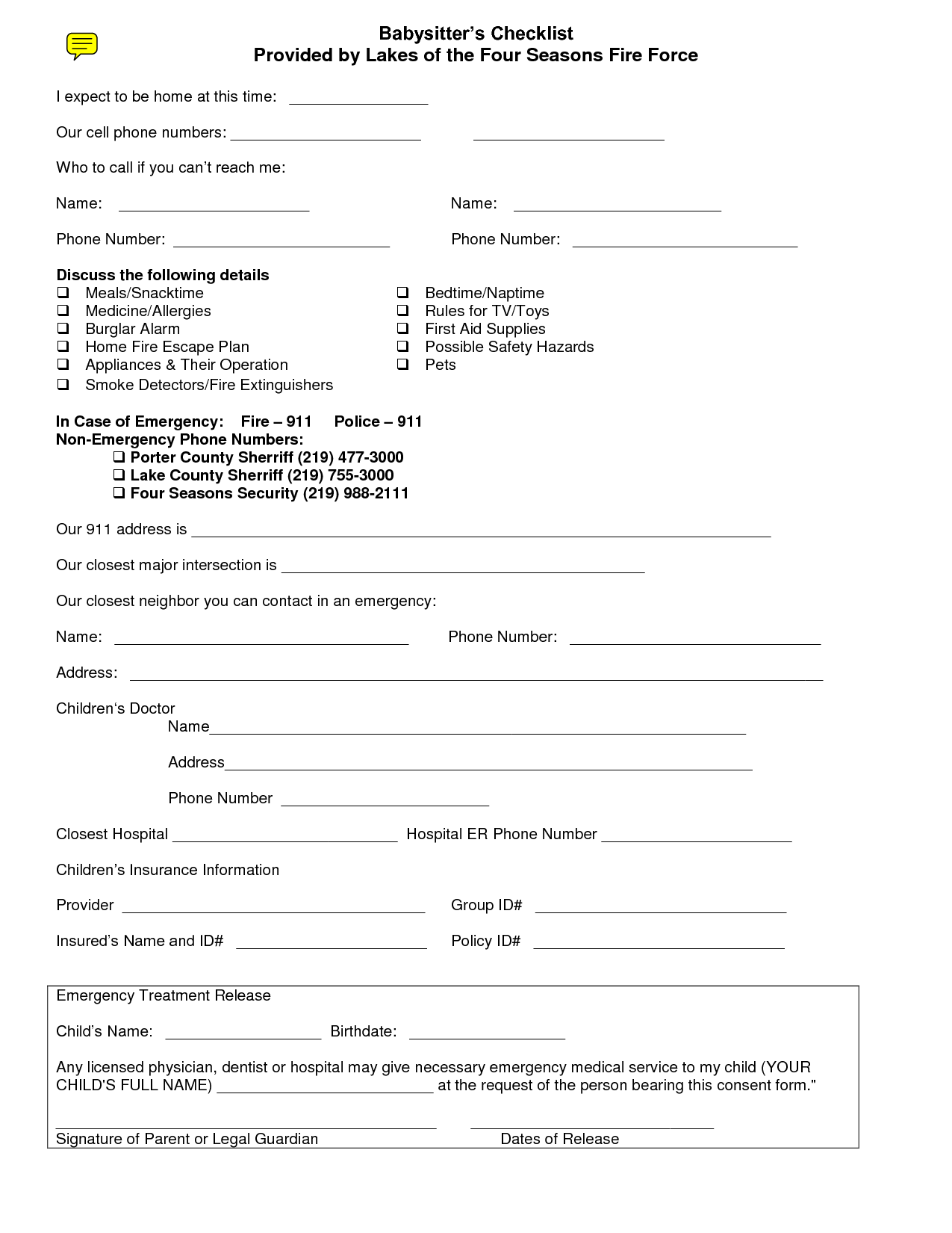 printable medical release form free download