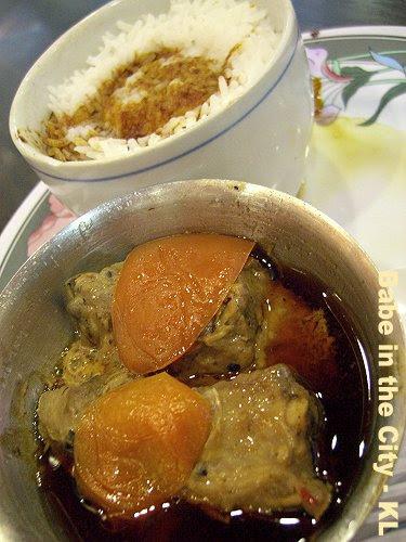 GFX - steamed pork ribs rice