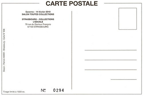 Patrick Hamm limited edition postcard