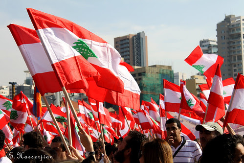 flickr: Protest against Erdogan's visit to Lebanon by SakoLB