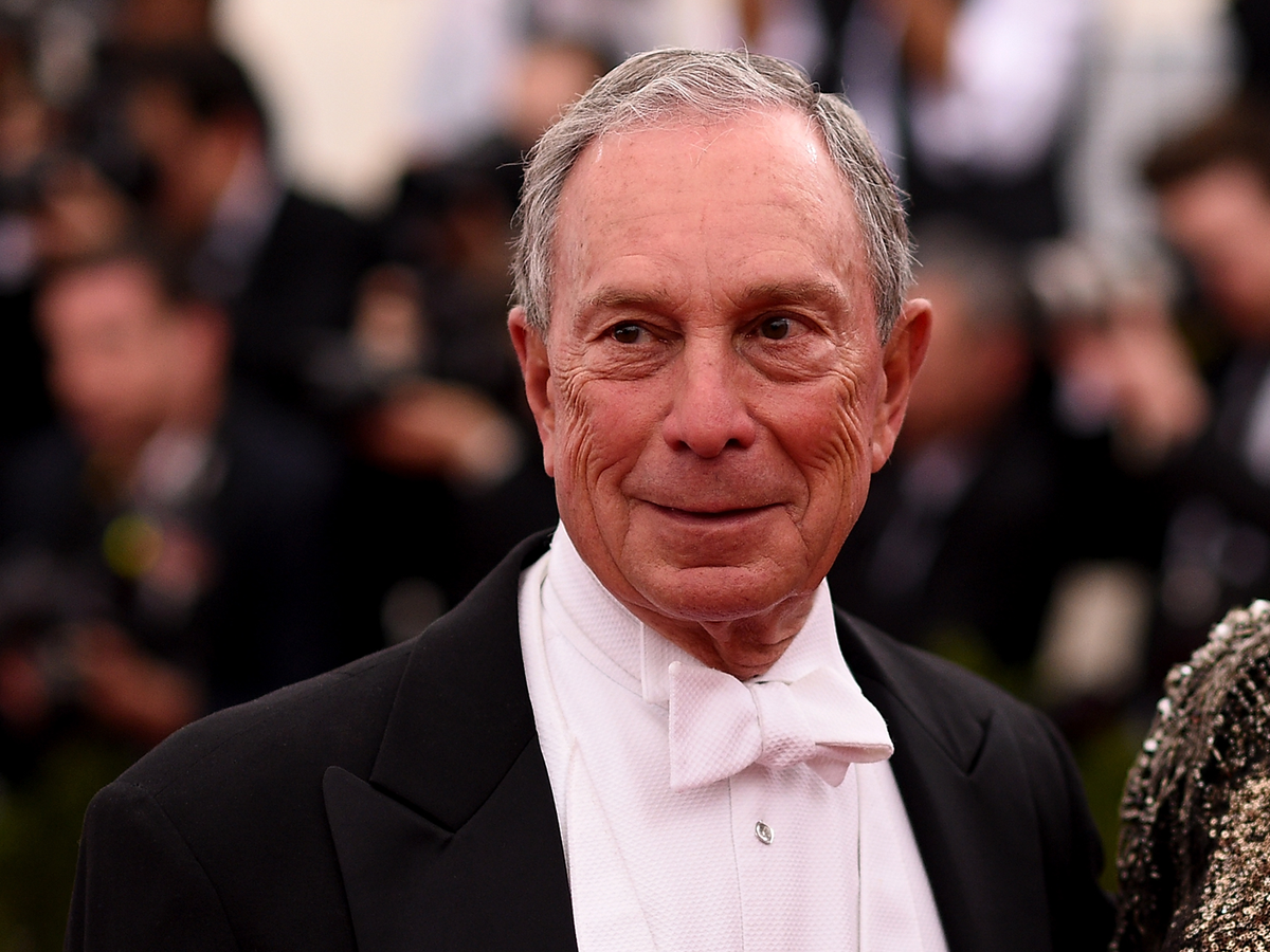 9. Michael Bloomberg