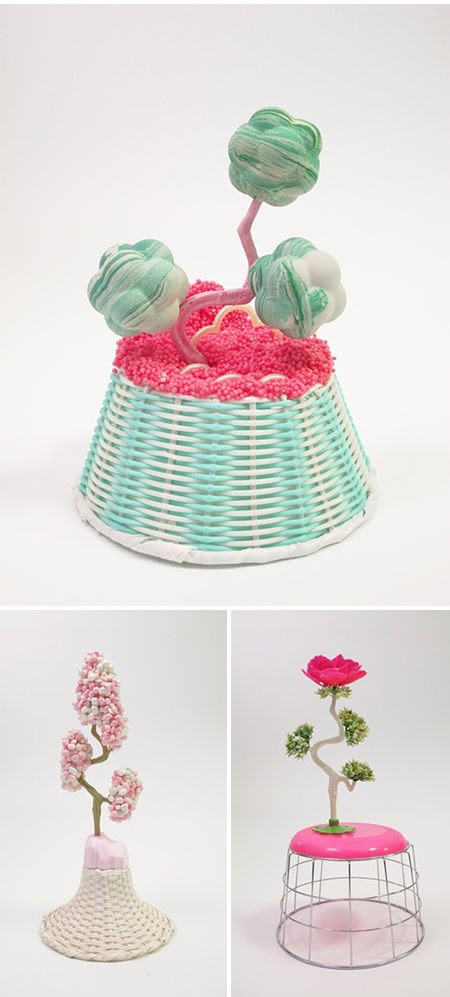 Amy Santoferraro assemblage sculptures (+ clay)