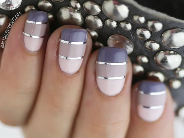 15 Interesting Nail Designs With Striping Tape Victorias Glamour