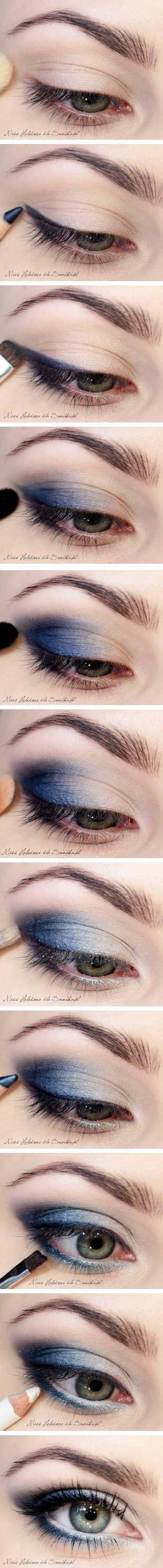 Blue Jeans Makeup