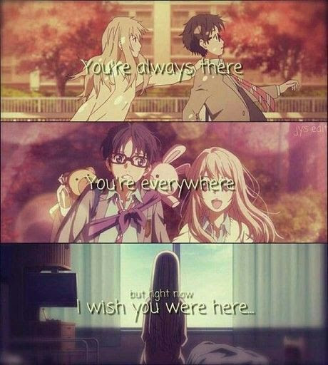 The Your Lie In April Quotes Are Just Beauty Anime Amino