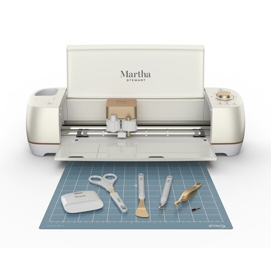 Cricut Explore Air 2 Special Edition, Martha Stewart Machine Bundle Open Mat