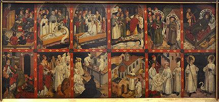 Resultado de imagen para Escenas de la vida de san Bruno y de la orden de la Cartuja