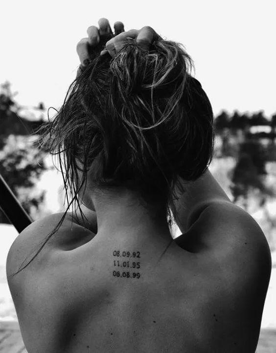 12 Increíbles Tatuajes En El Cuello Para Amar Traer El Cabello