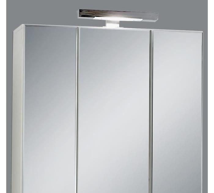 Mobilier table miroir de salle de bains avec eclairage for Table de drapier salle de bain