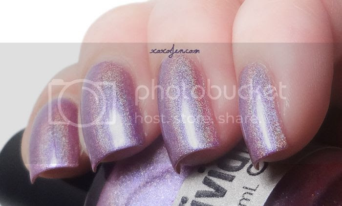 xoxoJen's swatch of Vivid Lacquer Mother Trucker