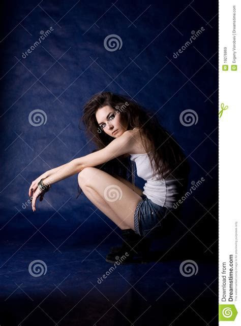The Beautiful Mystical Women Royalty Free Stock Images