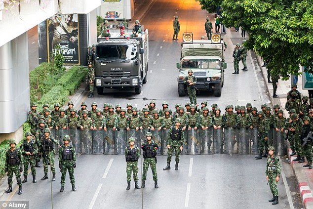 As well as the murder of British backpackers Hannah Witheridge and David Miller in mid-September, there was a bloody military coup in Thailand in May