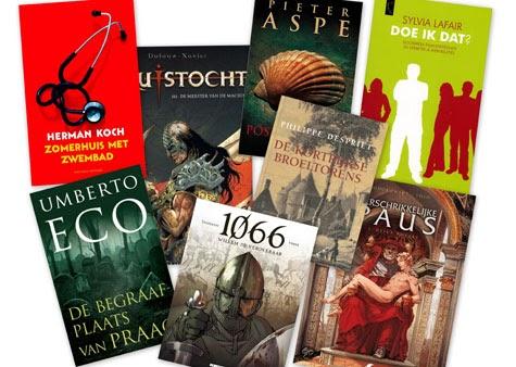 Bibliotheek kortrijk de top 10 meest ontleende bibmaterialen van het jaar editie 2011 - Kast voor het opslaan van boeken ...