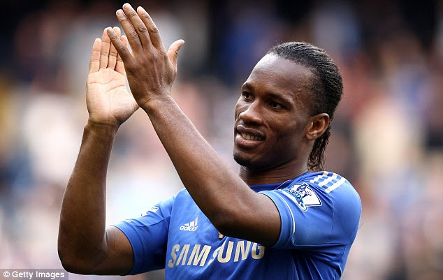 Veteran: Drogba has over 100 caps for the Ivory Coast and made over 200 league appearances for Chelsea