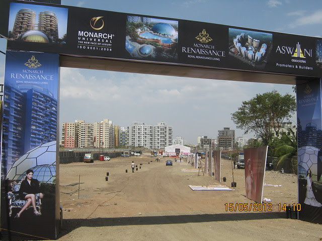Entrance Arch  and Well Known Wakad - Visit Monarch Renaissance, 4 BHK 3 BHK & 2 BHK Flats at Wakad, Pune 411057