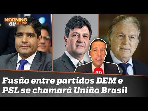 Fusão DEM/PSL pode gerar candidatura de Mandetta no novo partido União Brasil 44