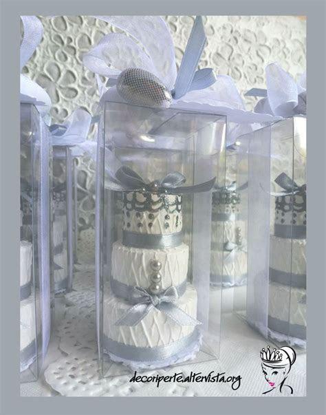 Silver 25° Wedding Anniversary Favors   BOMBONIERE
