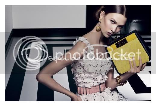 Karlie Kloss Oscar de la Renta Spring 2012 Ad Campaign