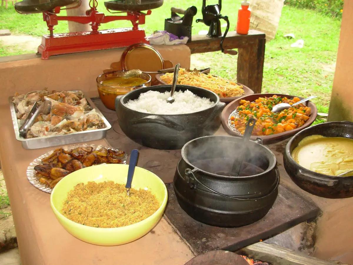 Resultado de imagem para Gastronomia africana