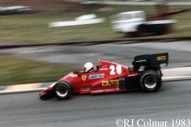 Ferrari 126 C3, European Grand Prix, Brands Hatch