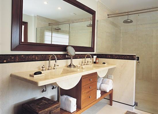 baños decorados con madera, decoracion, diseño, baños